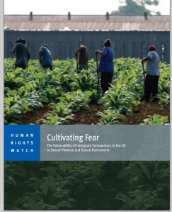 Report Cover Cultivating Fear